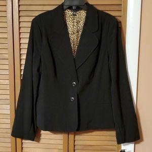 18 New Directions Black Women's Suit Coat NEW